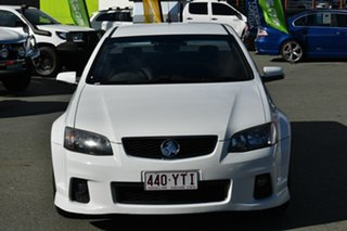 2012 Holden Commodore VE II MY12 SS Thunder White 6 Speed Manual Utility.
