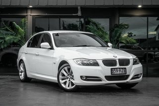 2011 BMW 3 Series E90 MY1011 320i Steptronic Lifestyle White 6 Speed Sports Automatic Sedan.