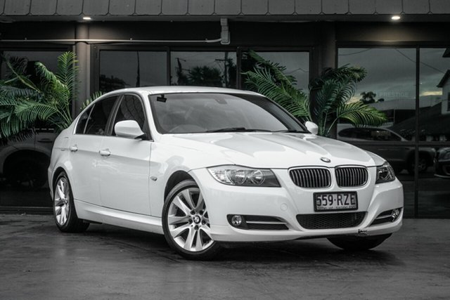 Used BMW 3 Series E90 MY1011 320i Steptronic Lifestyle, 2011 BMW 3 Series E90 MY1011 320i Steptronic Lifestyle White 6 Speed Sports Automatic Sedan