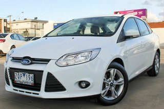 2013 Ford Focus LW MkII Trend PwrShift White 6 Speed Automatic Sedan.