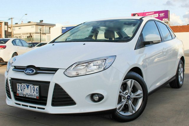 Used Ford Focus LW MkII Trend PwrShift, 2013 Ford Focus LW MkII Trend PwrShift White 6 Speed Sports Automatic Dual Clutch Sedan