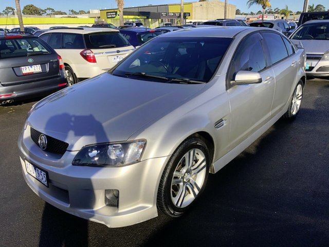 Used Holden Commodore VE SV6, 2006 Holden Commodore VE SV6 Silver 5 Speed Sports Automatic Sedan