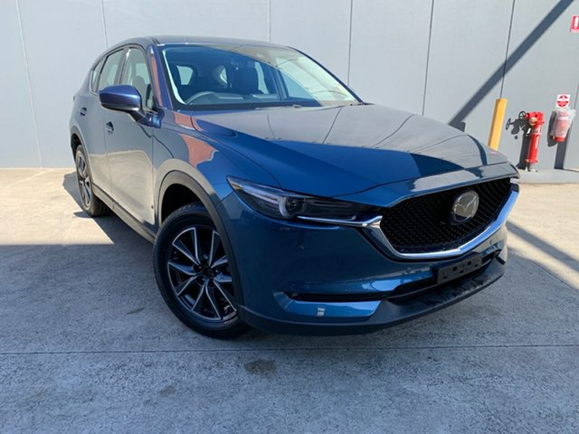 New Mazda CX-5 KF4WLA GT SKYACTIV-Drive i-ACTIV AWD, 2020 Mazda CX-5 KF4WLA GT SKYACTIV-Drive i-ACTIV AWD Eternal Blue 6 Speed Sports Automatic Wagon