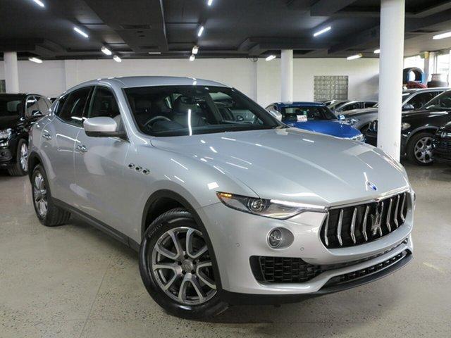 Used Maserati Levante M161 MY17 Q4, 2017 Maserati Levante M161 MY17 Q4 Silver 8 Speed Sports Automatic Wagon