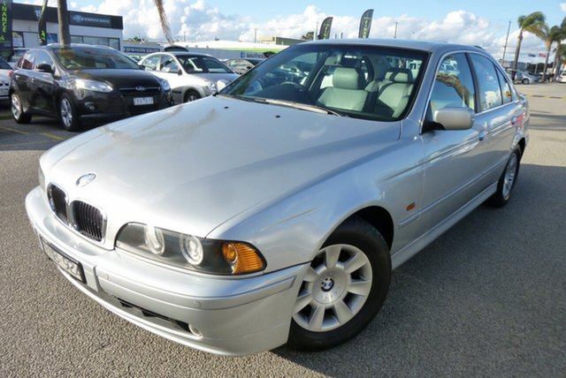 Used BMW 5 Series E39 MY01 525i Steptronic Executive Cheltenham, 2001 BMW 5 Series E39 MY01 525i Steptronic Executive Silver 5 Speed Sports Automatic Sedan