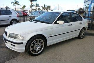 1999 BMW 3 Series E46 318i White 4 Speed Automatic Sedan.