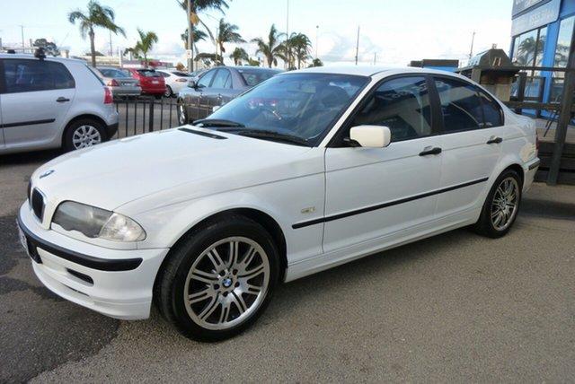 Used BMW 3 Series E46 318i, 1999 BMW 3 Series E46 318i White 4 Speed Automatic Sedan