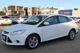 2013 Ford Focus LW MkII Trend PwrShift White 6 Speed Automatic Sedan