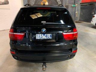 2009 BMW X5 E70 MY10 xDrive30d Steptronic Black 6 Speed Sports Automatic Wagon