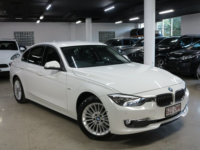 Used BMW 3 Series F30 MY1114 320d Luxury Line, 2014 BMW 3 Series F30 MY1114 320d Luxury Line White 8 Speed Sports Automatic Sedan