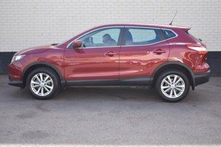 2017 Nissan Qashqai J11 ST Maroon 1 Speed Constant Variable Wagon
