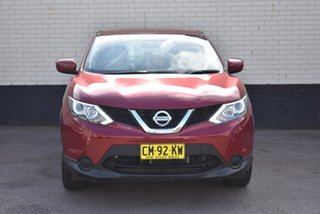 2017 Nissan Qashqai J11 ST Maroon 1 Speed Constant Variable Wagon.