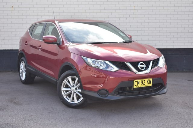 Used Nissan Qashqai J11 ST, 2017 Nissan Qashqai J11 ST Maroon 1 Speed Constant Variable Wagon