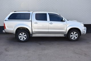 2010 Toyota Hilux KUN26R MY10 SR5 Silver 4 Speed Automatic Utility