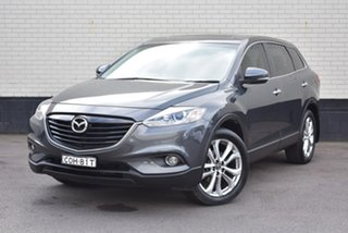 2013 Mazda CX-9 TB10A5 Luxury Activematic Black 6 Speed Sports Automatic Wagon.