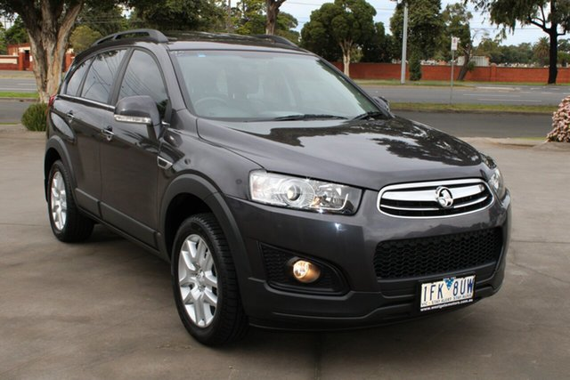 Used Holden Captiva CG MY15 7 LS Active (FWD) West Footscray, 2015 Holden Captiva CG MY15 7 LS Active (FWD) Grey 6 Speed Automatic Wagon