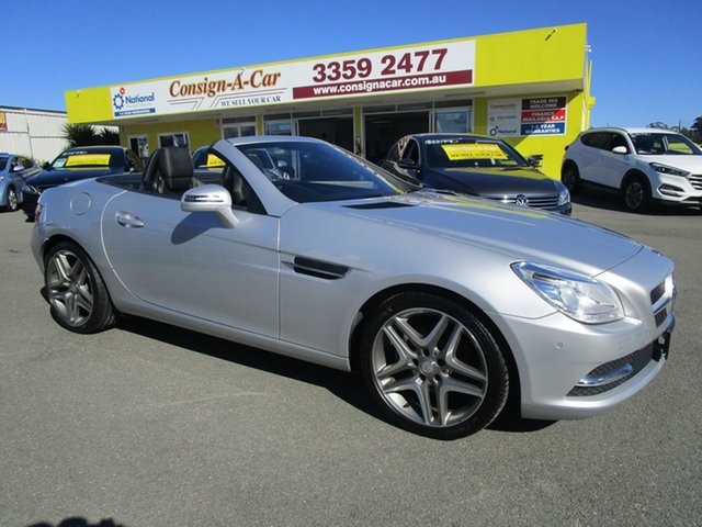Used Mercedes-Benz SLK200 R172 7G-Tronic +, 2013 Mercedes-Benz SLK200 R172 7G-Tronic + Silver 7 Speed Sports Automatic Roadster