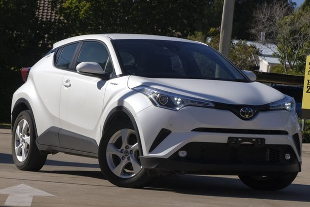Used Toyota C-HR NGX10R S-CVT 2WD, 2019 Toyota C-HR NGX10R S-CVT 2WD White 7 Speed Constant Variable Wagon
