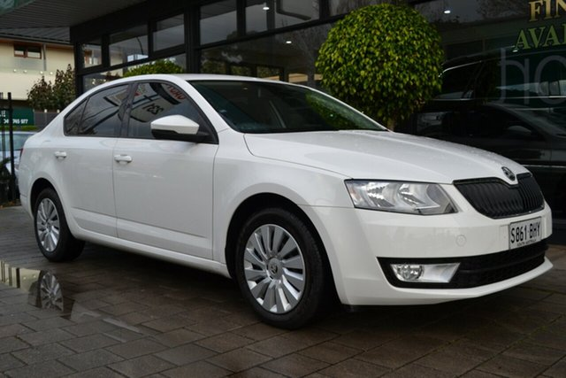 Used Skoda Octavia NE MY16 Ambition Sedan 110TSI, 2016 Skoda Octavia NE MY16 Ambition Sedan 110TSI White 6 Speed Manual Liftback