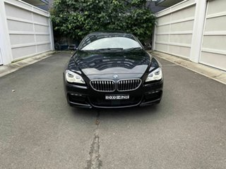 2015 BMW 6 Series F13 LCI 640i Steptronic Black 8 Speed Sports Automatic Coupe.