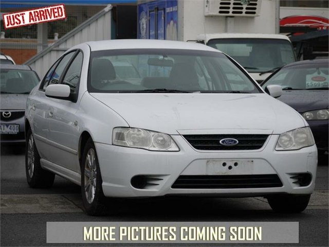 Used Ford Falcon BF Mk II Futura, 2008 Ford Falcon BF Mk II Futura White Sports Automatic Sedan