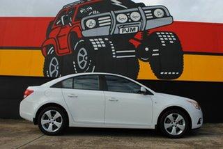 2013 Holden Cruze JH Series II MY13 Equipe Polar White 6 Speed Sports Automatic Sedan.