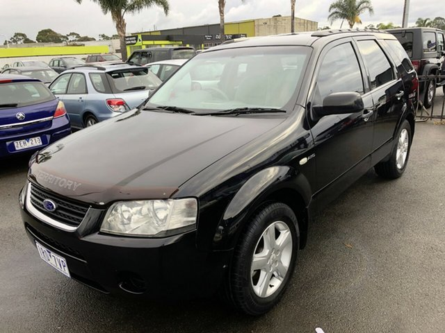 Used Ford Territory SY TX AWD, 2006 Ford Territory SY TX AWD Black 6 Speed Sports Automatic Wagon