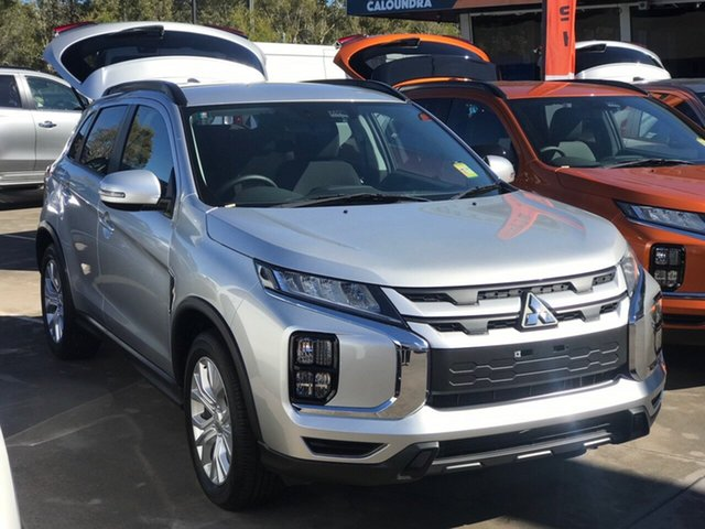 Demo Mitsubishi ASX XD MY20 LS 2WD, 2019 Mitsubishi ASX XD MY20 LS 2WD Sterling Silver 1 Speed Constant Variable Wagon