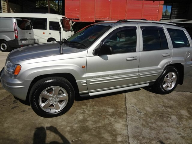 Used Jeep Grand Cherokee WG Limited Vision Series, 2004 Jeep Grand Cherokee WG Limited Vision Series Silver 5 Speed Automatic Wagon
