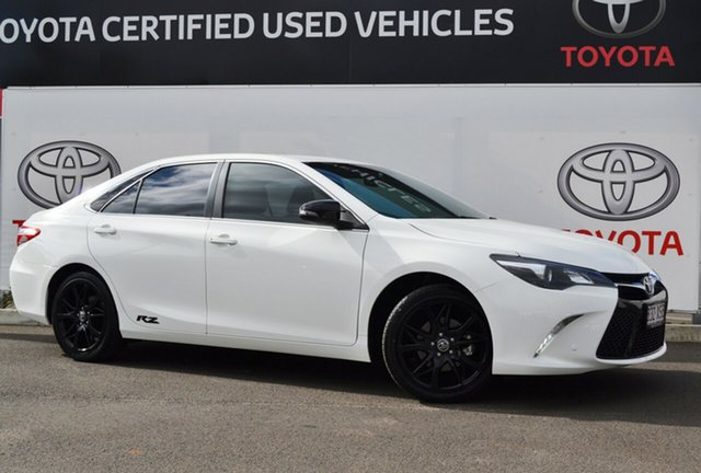 Used Toyota Camry ASV50R RZ, 2017 Toyota Camry ASV50R RZ Diamond White 6 Speed Sports Automatic Sedan