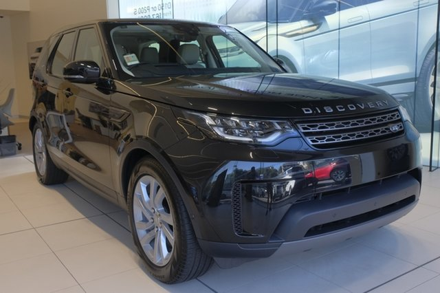 Demo Land Rover Discovery Series 5 L462 MY20 SE, 2019 Land Rover Discovery Series 5 L462 MY20 SE Santorini Black 8 Speed Sports Automatic Wagon