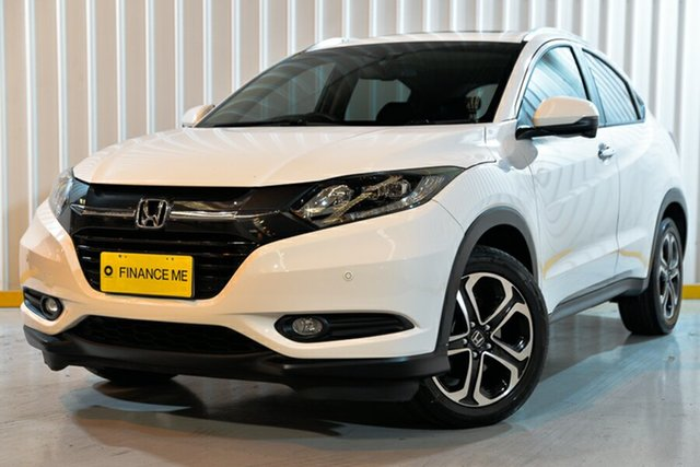 Used Honda HR-V MY16 VTi-L, 2016 Honda HR-V MY16 VTi-L White 1 Speed Hatchback