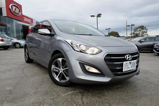 Used Hyundai i30 GD3 Series II MY16 Active X, 2015 Hyundai i30 GD3 Series II MY16 Active X Silver 6 Speed Manual Hatchback