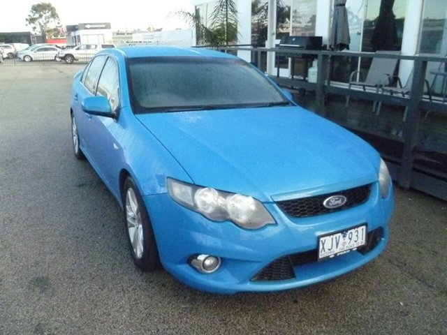 Used Ford Falcon FG XR6, 2009 Ford Falcon FG XR6 Blue 5 Speed Sports Automatic Sedan