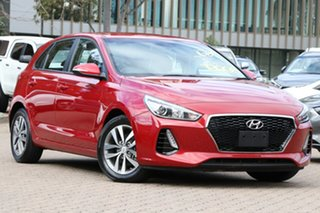 2018 Hyundai i30 PD2 Update Active Red 6 Speed Auto Sequential Hatchback.