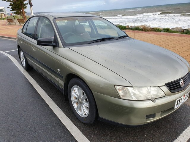 Used Holden Commodore VY Executive, 2003 Holden Commodore VY Executive Martini Grey 4 Speed Automatic Sedan