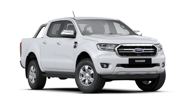 New Ford Ranger TH XLT 2.0 (4x4), 2020 Ford Ranger TH MY20.75 XLT 2.0 (4x4) Arctic White 10 Speed Automatic Dual Cab