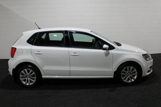 2015 Volkswagen Polo 6R MY15 66TSI DSG Trendline White 7 Speed Sports Automatic Dual Clutch.