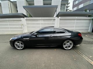 2015 BMW 6 Series F13 LCI 640i Steptronic Black 8 Speed Sports Automatic Coupe