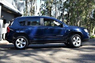 2012 Jeep Compass MK MY12 Sport CVT Auto Stick Metallic Blue 6 Speed Constant Variable Wagon