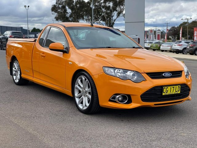 Used Ford Falcon  XR6, 2014 Ford Falcon XR6 - Turbo Orange Sports Automatic Utility - Extended Cab