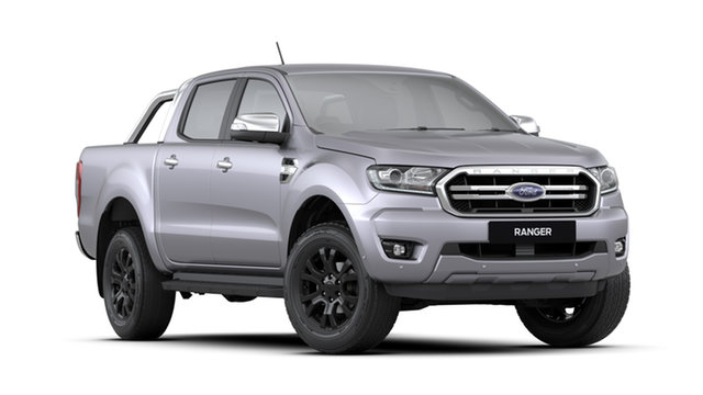 New Ford Ranger  , 2020 Ford Ranger TH MY20.75 XLT 3.2L (4X4) Aluminium Silver 6 Speed Automatic Dual Cab