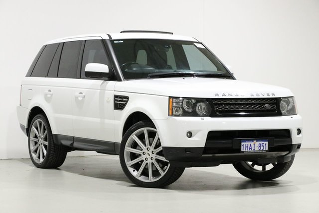 Used Land Rover Range Rover MY13.5 Sport 3.0L SDV6 Silver, 2013 Land Rover Range Rover MY13.5 Sport 3.0L SDV6 Silver White 6 Speed Automatic Wagon