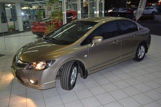 2009 Honda Civic 8th Gen MY09 VTi Gold 5 Speed Automatic Sedan.