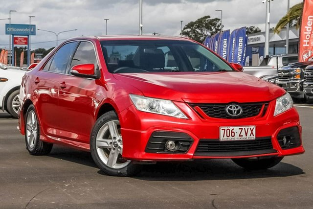 Used Toyota Aurion GSV50R Sportivo SX6, 2013 Toyota Aurion GSV50R Sportivo SX6 Red 6 Speed Sports Automatic Sedan