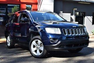 2012 Jeep Compass MK MY12 Sport CVT Auto Stick Metallic Blue 6 Speed Constant Variable Wagon.