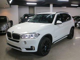 2015 BMW X5 F15 sDrive25d White 8 Speed Automatic Wagon.