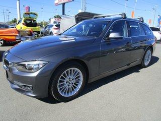 2014 BMW 320i F31 MY0813 Touring Grey 8 Speed Sports Automatic Wagon.