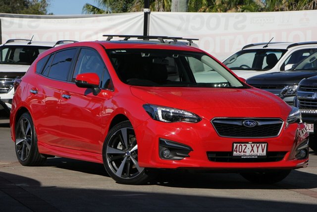 Used Subaru Impreza G5 MY18 2.0i-S CVT AWD, 2018 Subaru Impreza G5 MY18 2.0i-S CVT AWD Red 7 Speed Hatchback