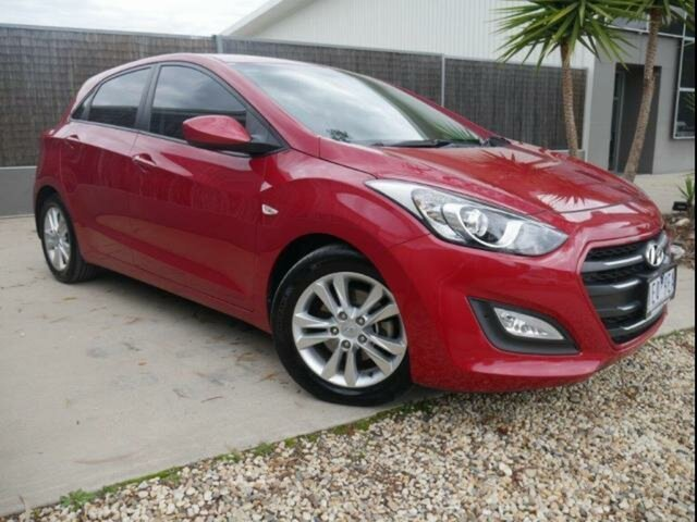 Used Hyundai i30 GD MY14 Active, 2015 Hyundai i30 GD MY14 Active Red 6 Speed Automatic Hatchback